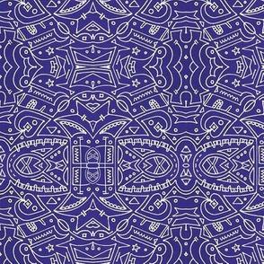 Batik 1 Purple