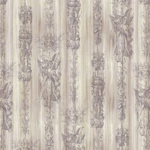 Ornate Fish Stripe - neutral