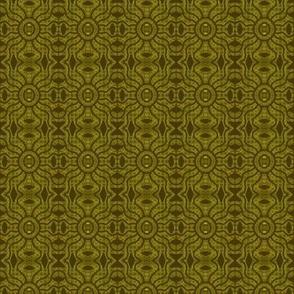 Tribal Mud Cloth Khaki Green