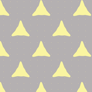 diatom dots yellow on grey