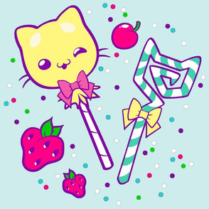 Kawaii Kitty Sprinkles Frosting