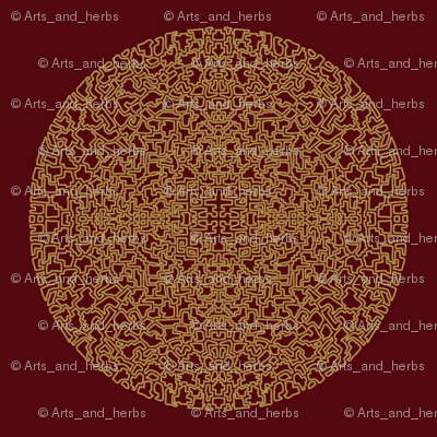 Mandala (dark background)