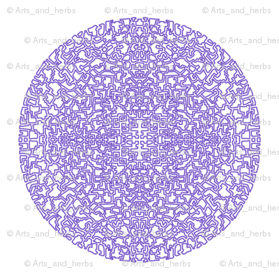 Mandala (white background)
