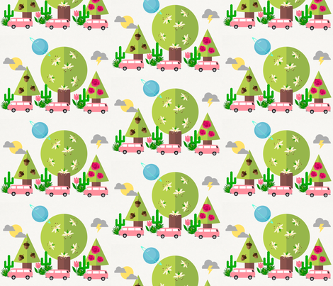 Cool holiday fabric by inniv8z_oz on Spoonflower - custom fabric