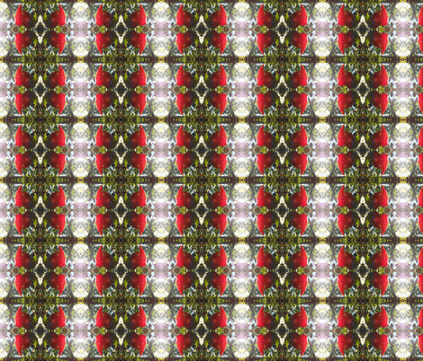 Flaming Hot Chillies (Ref. 4133) fabric by rhondadesigns on Spoonflower - custom fabric