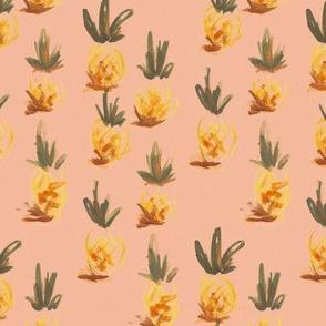 pineapple handpaint
