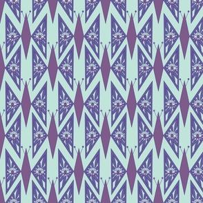 Art Deco Butterflies- purple