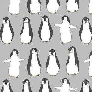 penguin // baby pingu penguins baby cute winter animals nursery baby fabric cute scandi nursery design