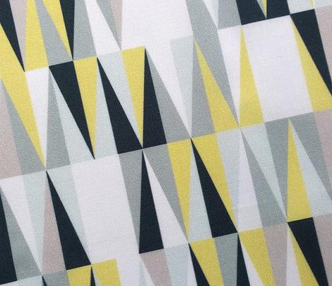 Harrah (Custom Boys) || atomic midcentury modern Las Vegas tile triangles geometric diamonds 50s 60s