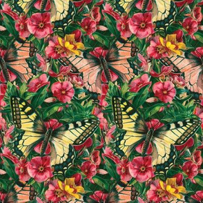 Butterfly Floral ~ Medium