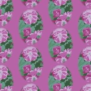 Medium Pink Vintage Rose