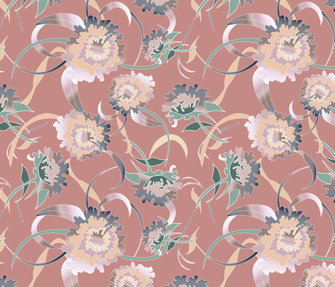 Blanche's Couch fabric by elliottdesignfactory on Spoonflower - custom fabric