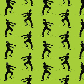 Green Zombie Pattern
