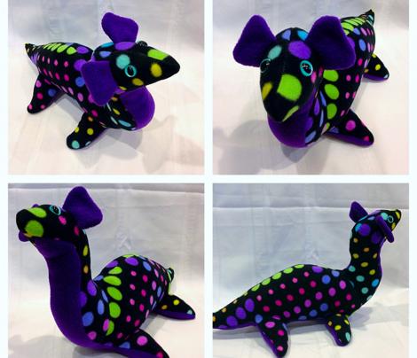 DIY Nessie Plushie Pattern