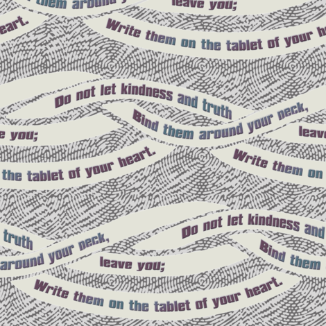 Binding kindness and truth fabric by wren_leyland on Spoonflower - custom fabric
