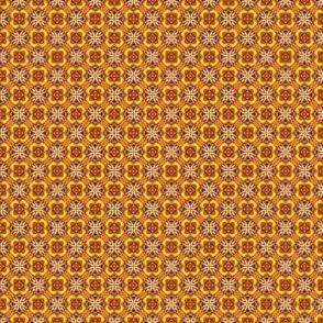 Golden grid of xes
