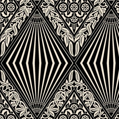 Zigzag Moderne 2c fabric by muhlenkott on Spoonflower - custom fabric
