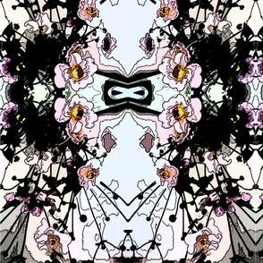 Gi flower reflection