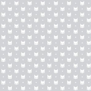 batmask + white grey