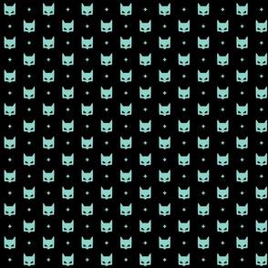 batmask + mint black