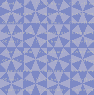 Pieced Periwinkle