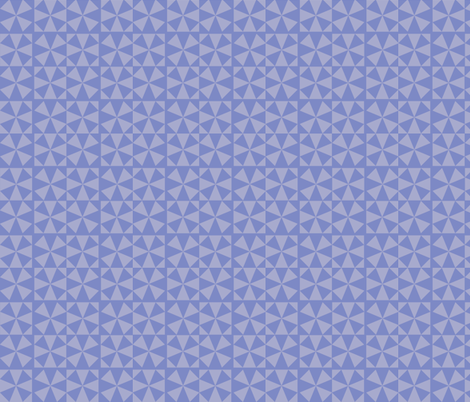 Pieced Periwinkle fabric by dstimpson on Spoonflower - custom fabric