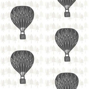 Charcoal Hot-air Balloon