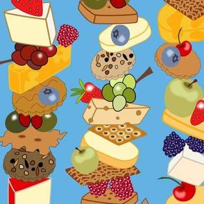 Stacks of Snacks