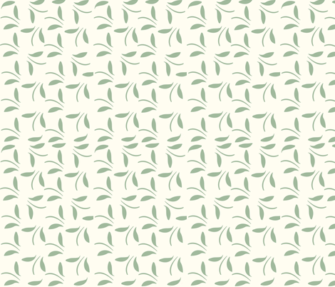 leaf print fabric by lizgraceartwork on Spoonflower - custom fabric
