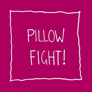 Mini Pillow Fight Haute Pink
