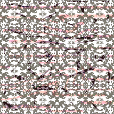 Mirrored Flower Cuts-©Copyright fabric by yelena_huntington on Spoonflower - custom fabric