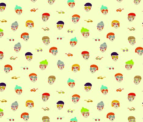 sunglasses fabric by kkillustrations on Spoonflower - custom fabric