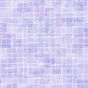 double periwinkle watercolor squares