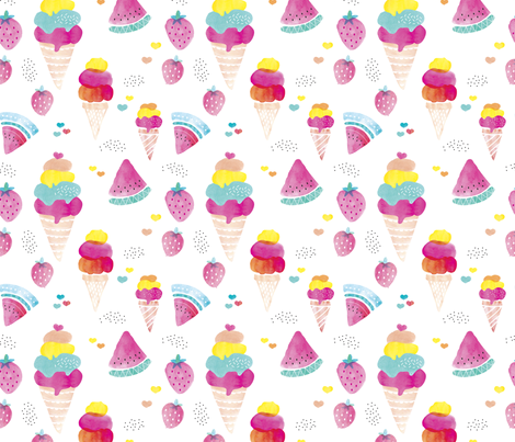 watermelon popsicle wallpaper