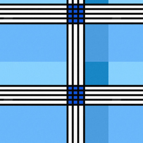 Blue Plaid Dream