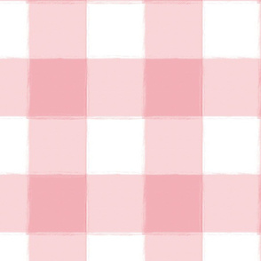 Large Perfect Pink Buffalo Check Plaid