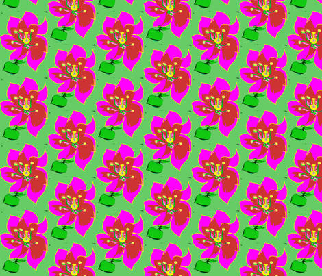 Same_old_flower-1_copy fabric by swish-art on Spoonflower - custom fabric