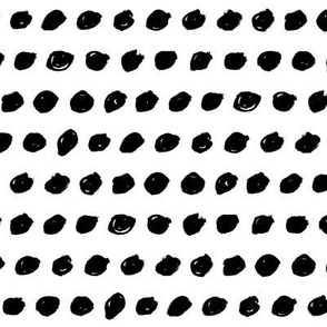 black white dots