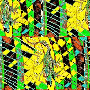 Reptilian Abstract/sml