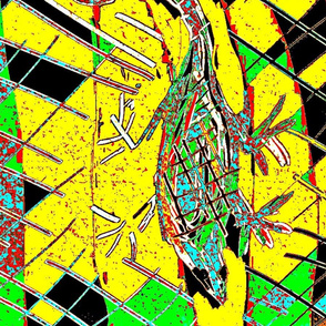 Reptilian Abstract/lg