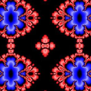 fractal  burning diamond