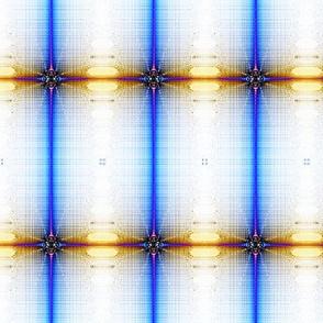 fractal cosmic plaid