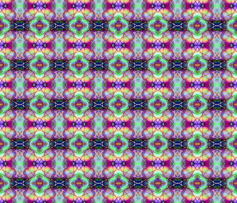 fractal  crisscross 2 fabric by koalalady on Spoonflower - custom fabric