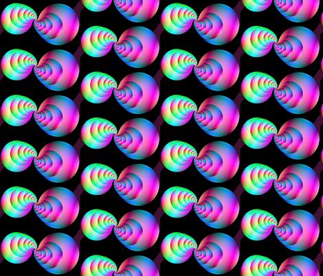 fractal kiss fabric by koalalady on Spoonflower - custom fabric