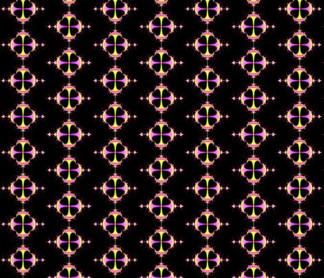 fractal  spot  5 fabric by koalalady on Spoonflower - custom fabric