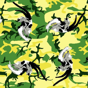 camouflage goat