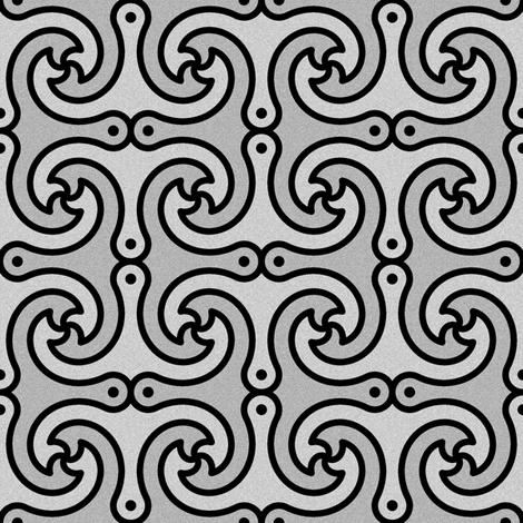 04445167 : anchor 4gX 2 : metal fabric by sef on Spoonflower - custom fabric