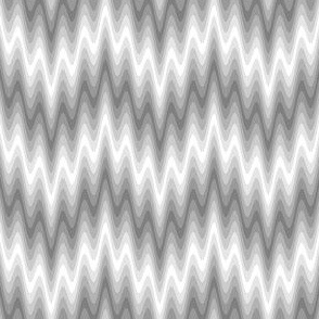 rippling zigzag wave : grey