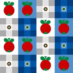 Apples, Flowers and Tartan