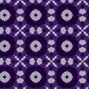 Purple Shibori Kaleidoscope